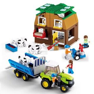 Sluban Interlocking Bricks Cow Farm