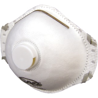 SAS Safety Corporation 8611 N95 Valved Particulate Respirator 10-count