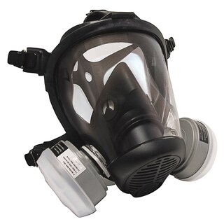 SAS Safety Corporation 7750-61 Large Charcoal N95 Respirator