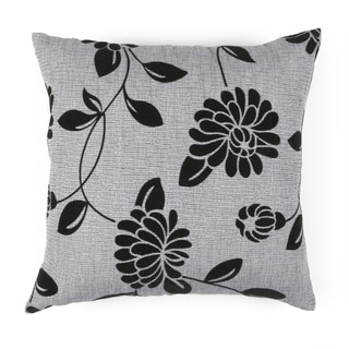 Journee Home 'FLORAL INK' 17-inch Accent Throw Pillow