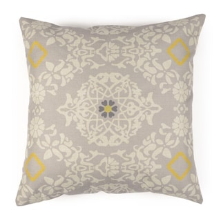 Journee Home 'NYLA' 17-inch Vintage Linen Accent Throw Pillow