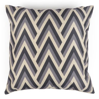 Journee Home 'Geo Castles' 17-inch Vintage Accent Throw Pillow