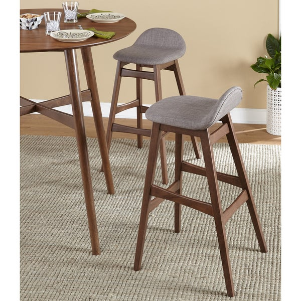 Simple Living Axel Mid Century Modern 30 Inch Stool Set