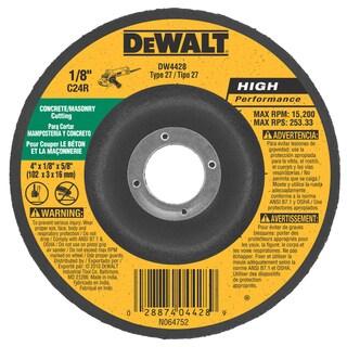 """DeWalt DW4428 4"""" Masonry Wheel"""