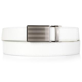 Vance Co. Men's Genuine Leather Adjustable Ratchet Belt
