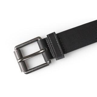 Vance Co. Men's Genuine Leather Textured Belt