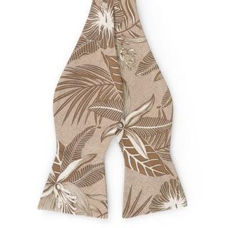 Tommy Bahama Men's Handmade Hawaiian Print Cotton Bow Tie