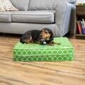 Medallion Gel Memory Foam Orthopedic Dog Bed with Waterproof Cover