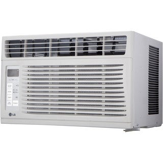 LG LW6015ER 6,000 BTU 115V Window-mounted White Air Conditioner with Remote Control