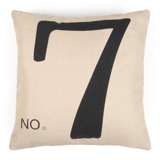 Journee Home 'PEN & PAPER' 17-inch Vintage Accent Throw Pillow