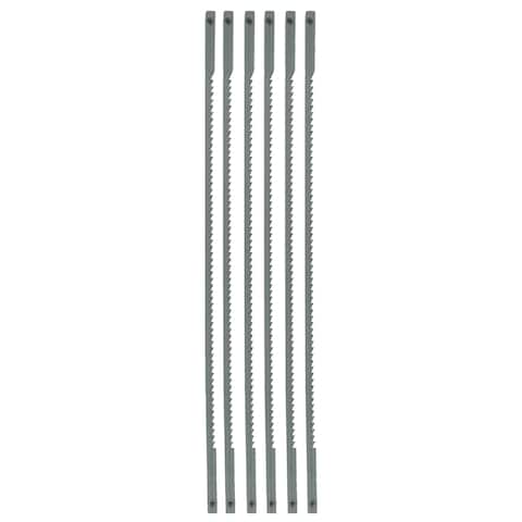 """Great Neck CS6 6-1/2"""" Pin Ended Coping Saw Blades"""