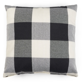 Journee Home 'CHECKERS' 17-inch Accent Throw Pillow