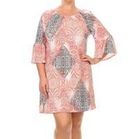 MOA Collection Plus Woman's Short Dress