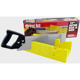 Great Neck BSB14 Miter Box With Miter Saw