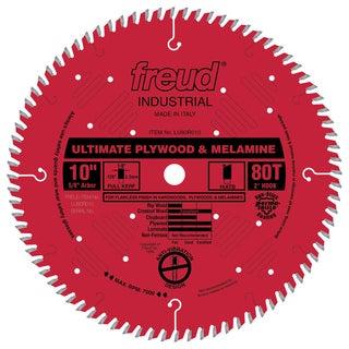 "Freud LU80R010 10"" 80T Finish Work Table Saw Blade"