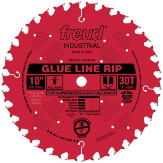"Freud LM74R010 10"" 30T Heavy Duty Ripping Saw Blade"