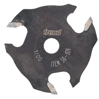 "Freud 56-108 1/8"" 3T Three Wing Slotting Cutter"