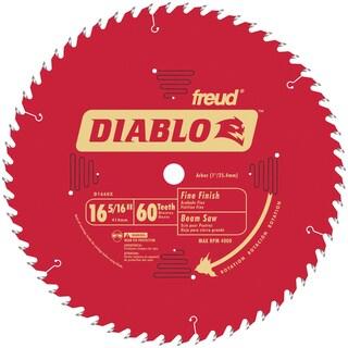 "Diablo D1660X 16-5/6"" 60T Diablo Fine Finish Work Beam Saw Blade"