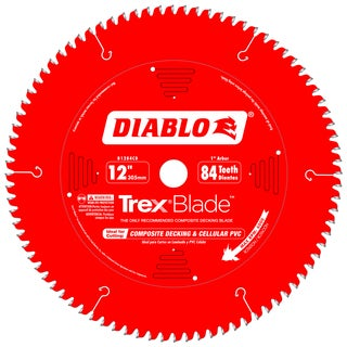 "Diablo D1284CD 12"" 84 Tooth Circular Saw Blade"