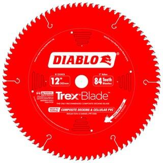"Diablo D1284CD 12"" 84 Tooth Circular Saw Blade"
