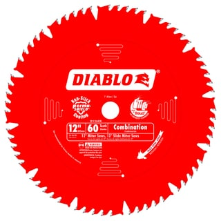 "Diablo D1260X 12"" 60 TPI Combination Ciruclar Saw Blade"