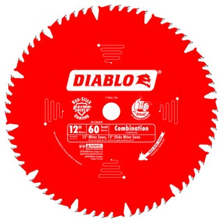 "Diablo D1260X 12"" 60 TPI Combination Ciruclar Saw Blade"