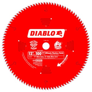 "Diablo D12100X 12"" 100 TPI Fine Finish Circular Saw Blade"