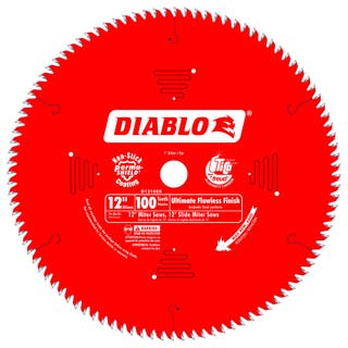 "Diablo D12100X 12"" 100 TPI Fine Finish Circular Saw Blade