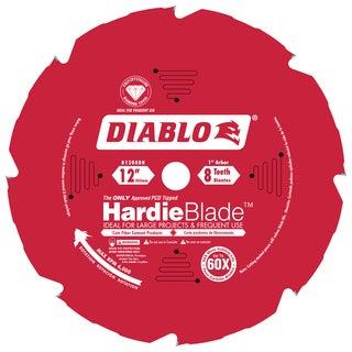"""Diablo D1208DH 12"""" 8T Diablo PCD Miter Saw HardieBlade"""