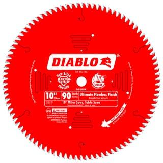 "Diablo D1090X 10"" 90 TPI Fine Finish Circular Saw Blade"