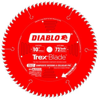 "Diablo D1072CD 10"" 72 Tooth Circular Saw Blade"