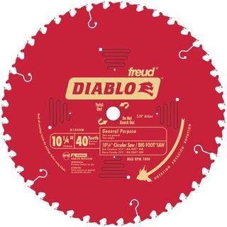 "Diablo D1040W 10-1/4"" 40T Diablo General Purpose Beam Saw Blade"