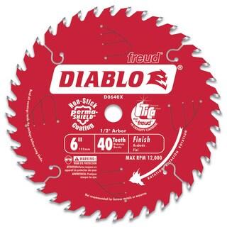 "Diablo D0640X 6"" Hi-Density 40T Diablo Porter Cable Saw Boss Saw Blade"
