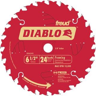 "Diablo D0624X 6-1/2"" 24T Diablo Circular Saw Framing Blade"