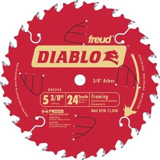 "Diablo D0524X 5-3/8"" 24T Diablo Trim Saw Blade"