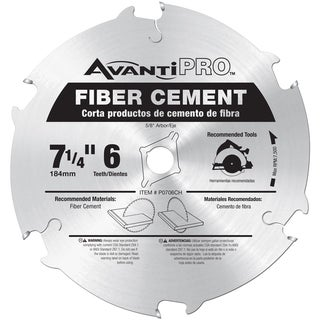 "Avanti P0706CH 7-1/4"" 6 Tooth Carbide Tipped Saw Blade"