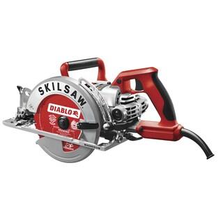"Skil SPT77WML-22 7-1/4"" Lightweight Worm Drive With Diablo Carbide Blade"