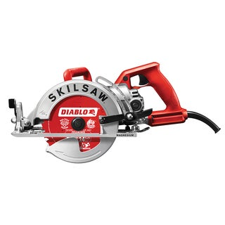 "Skil SPT77WM-22 7 1/4"" Magnesium Body Worm Drive Circular Saw - Red/Silver"