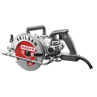 "Skil SPT77W-22 7-1/4"" Aluminum Worm Drive With Diablo Carbide Blade"