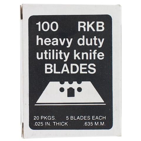 Allway Tools RKB100 100-count 3 Notch Utility Knife Blades