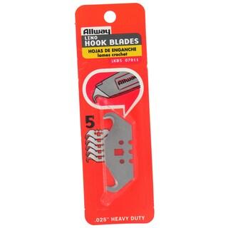 Allway Tools LKB5 5-count Linoleum Hook Blades
