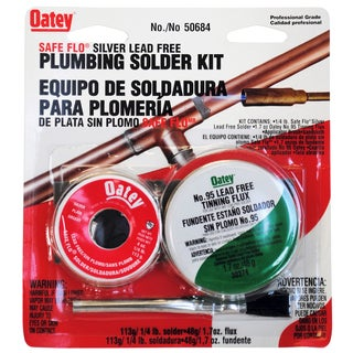 Oatey 50684 Safe Flo Solder Kit