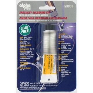 Alpha Fry AM53982 Lead-Free Silver Solder & Flux Kit