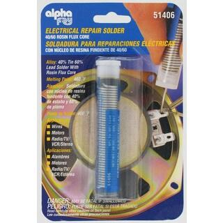 Alpha Fry AM51406 Rosin Core Solder & Dispenser