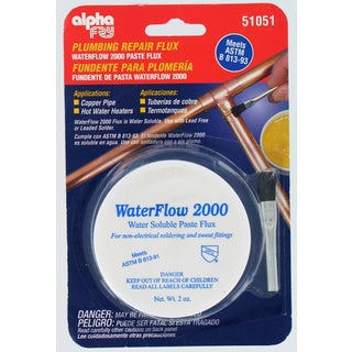 Alpha Fry AM51051 Water Soluble Flux & Brush