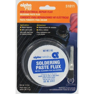 Alpha Fry AM51011 Soldering Paste Flux & Brush