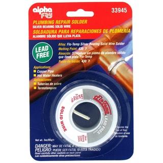 Alpha Fry AM33945 Flow-Temp Lead-Free Plumbing Solder