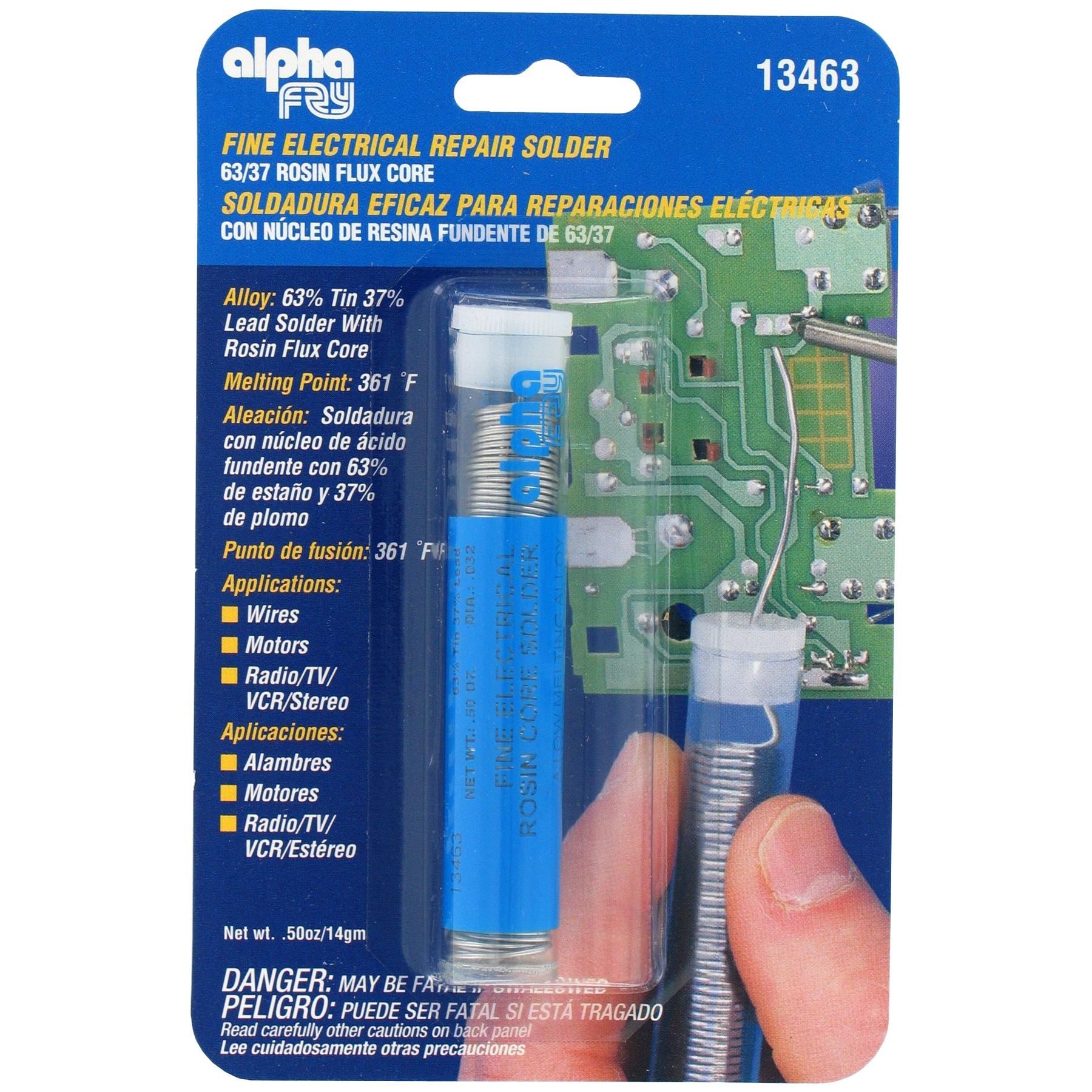 Alpha Fry AM13463 Rosin Core Electric Solder (Welders/too...