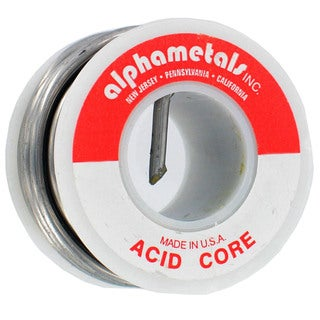 Alpha Fry AM12406 40/60 Acid Core Solder