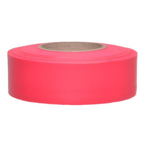 """Swanson CMRG15 1-3/16"""" X 150' Red Flagging Tape"""